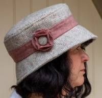 Paston Cloche Hat Pattern by Charlie's Aunt in PDF