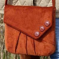 Reepham Messenger Bag Pattern by Charlie's Aunt