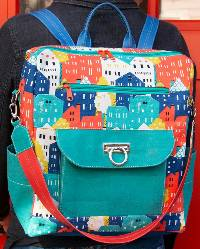 Boulder Backpack Pattern by Sassafras Lane Designs