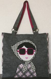 The Laura Tote Pattern by Schlosser Designs