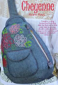 The Cheyenne Rope Bag Pattern by Serendipity Studio