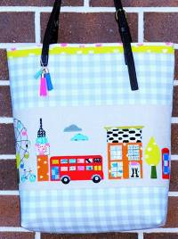 A Stitch in London Tote Bag Pattern by Sew Quirky