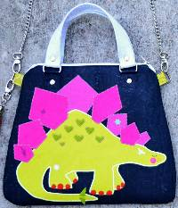 Stego Style Satchel Bag Pattern by Sew Quirky