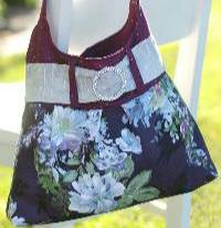 Buckle Bag Pattern by Shabby Fabrics