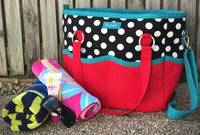 Summer Lovin' Beach Tote Pattern by Andrie Designs