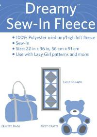 Dreamy Sew-In Fleece by Lazy Girl Designs