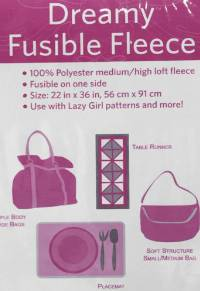 Dreamy Fusible Fleece by Lazy Girl Designs