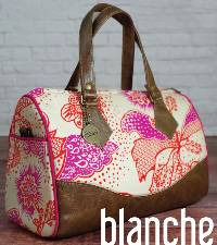 Blanche Barrel Bag Pattern by Swoon Sewing Patterns