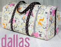 Dallas Vintage Duffel Pattern by Swoon Sewing Patterns