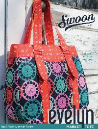 Evelyn Market Tote Pattern by Swoon Sewing Patterns