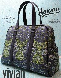 Vivian Handbag & Traveler Pattern by Swoon Sewing Patterns