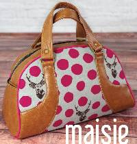 Maisie Bowler Bag Pattern by Swoon Sewing Patterns
