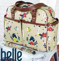 The Belle Baby Bag Pattern by Swoon Sewing Patterns