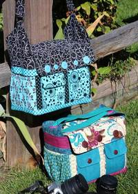 Say Cheese! Camera Bag Pattern by WhistlePig Creek Productions