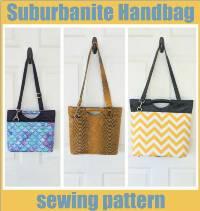The Suburbanite Handbag Sewing Pattern by Sew Modern Bags