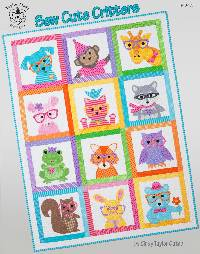 Sew Cute Critters Pattern Booklet by Cindy Taylor Oates of Taylor Made Designs