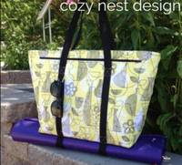 Motherload Tote Pattern by Cozy Nest Design
