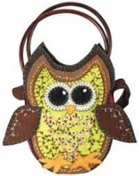 Owl Handbag by Barbara Crawford & AQS Blog