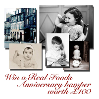 Share a baby photo of yourself with us for a chance to win a hamper of healthy goodies