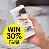 Share a photo of any dessert you have prepared for a chance to win 30% off your shopping at Real Foods