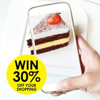 Photograph your cakes to win 30% off your shopping at Real Foods