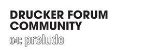Global Peter Drucker Forum Community
