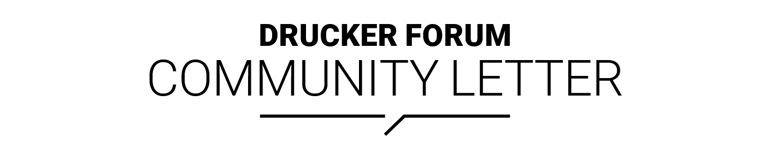 13th Global Peter Drucker Forum