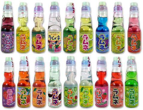 Limonades japonaises ramune
