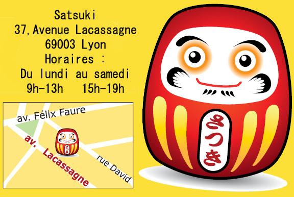 Ouverture épicerie Satsuki