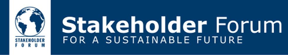 Stakeholder Forum Banner