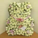 Floral Teddy in Memory of Denise Barnes