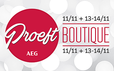 Proeft Boutique * 11+13+14/11 * Antwerpen