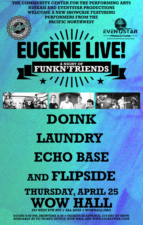 Eugene LIVE! – A Night of FunkN'Friends: Doink, Laundry