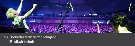 Zertifikatslehrgang Musikwirtschaft - ab Herbst 2015 an der FH Kufstein