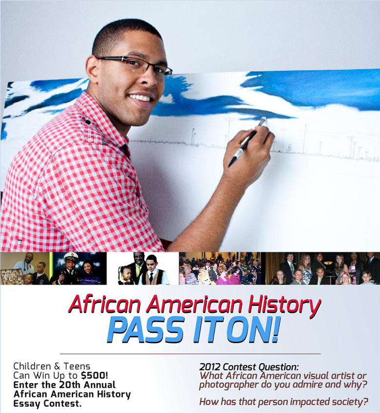 history essay contests 2012 The 2012-2013 topic for the american history essay contest is: focus on the often unrecognized people and groups, including african americans, native americans, hispanics, and others who provided.
