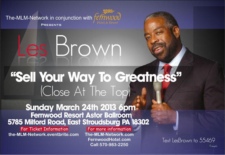 motivational speaker flyer