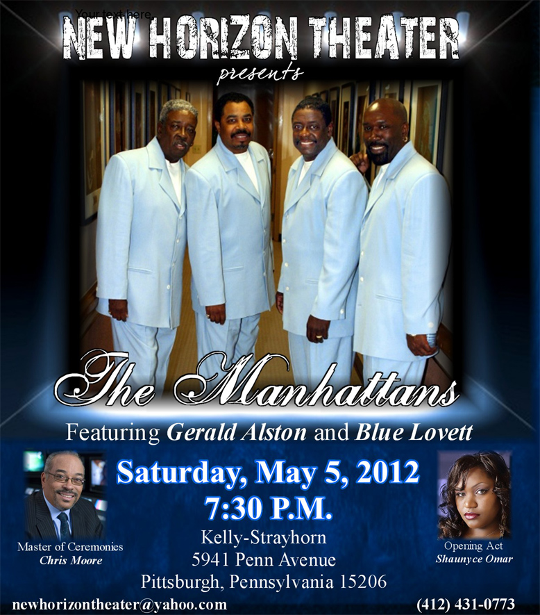 BAP OFFICIAL E-BLAST - THE MANHATTANS FEATURING GERALD ALSTON AND BLUE LOVETT, SATURDAY, MAY 5TH ...