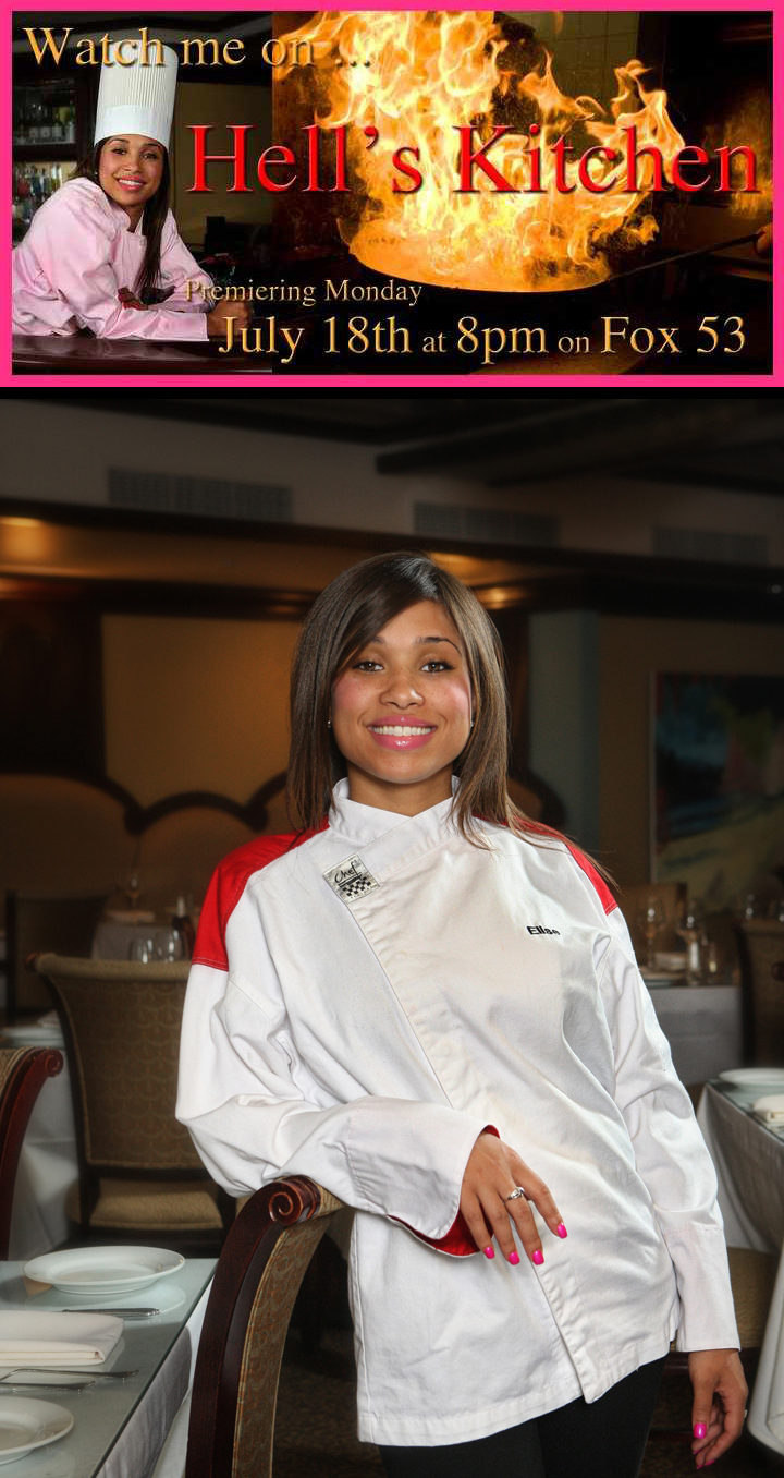 Bap Official E Blast Watch Elise Wims On Hell S Kitchen Premiering On Monday July 18 2011 At 8pm On Fox 53 And Afterparty At Sky Room