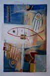 Michael Blum: Ichthys, 2000 I Der Fisch als Kurzform eines Glaubensbekenntnisses