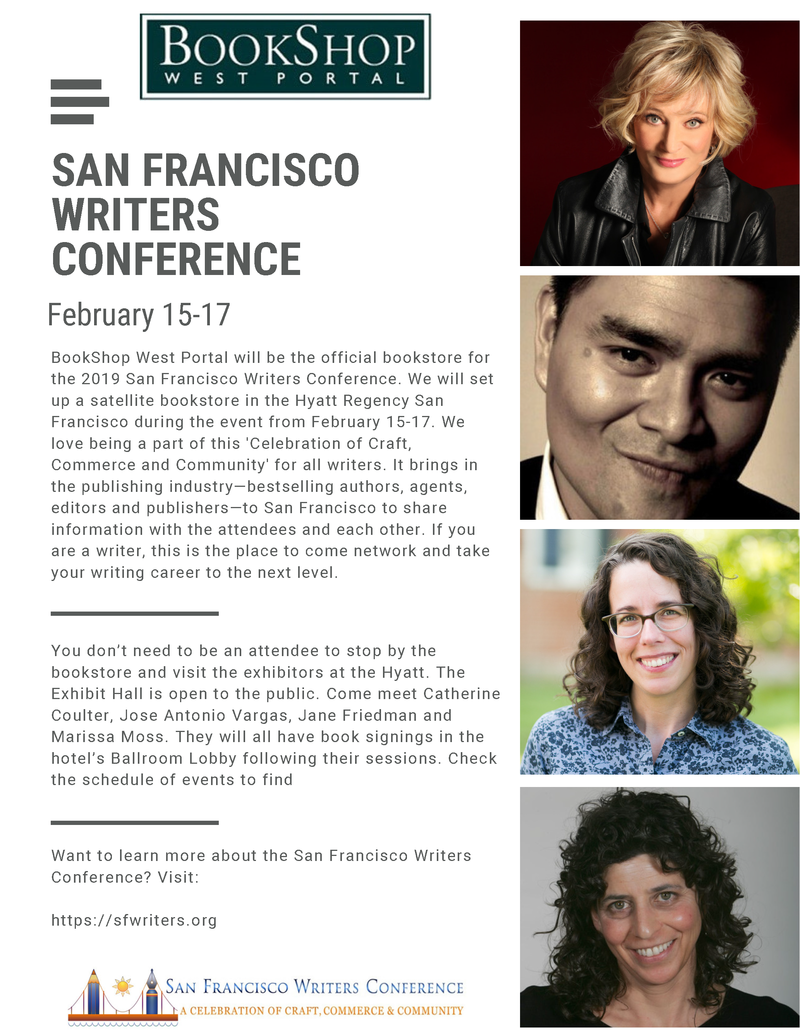 San Francisco Writers Conference flyer