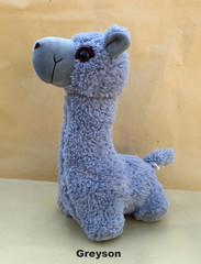 alpaca plush toy greyson