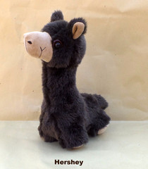 alpaca plush toy hershey