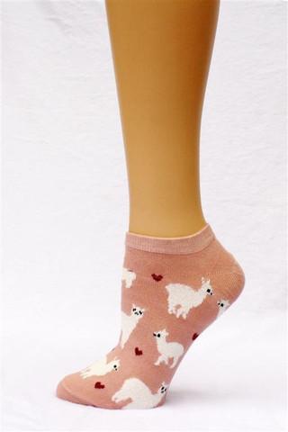 alpaca love ankle socks