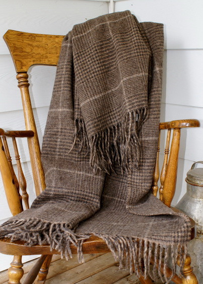 100% Alpaca Blanket Project Blanket Throws