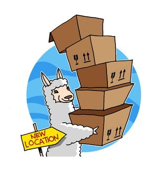 alpaca moving