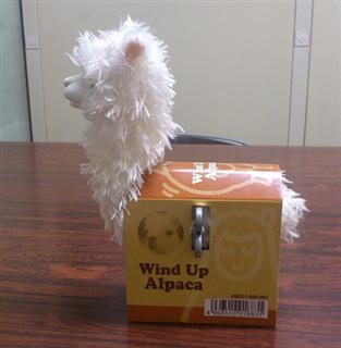 wind up alpaca toy