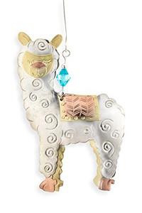 alpaca metal ornament