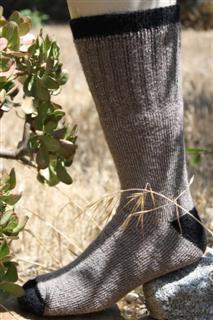 usa made alpaca socks outdoor adventure cocoa