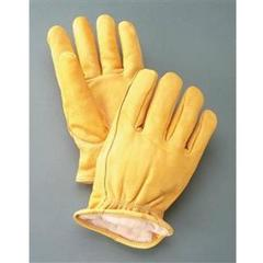 cowhide alpaca gloves in womens medium