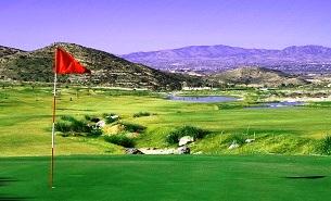 Font del Llop golf impression